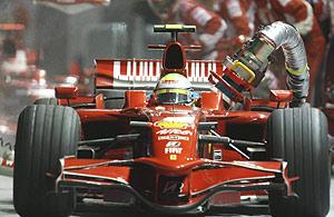 Felipe Massa. (Foto: AP)