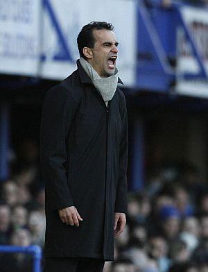 Roberto Martínez, entrenador del Swansea City, otro español de moda en Inglaterra. (Foto: AFP)