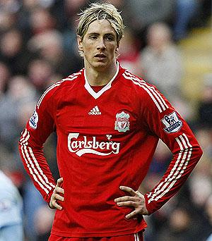 Torres, durante un partido con el Liverpool. (REUTERS)