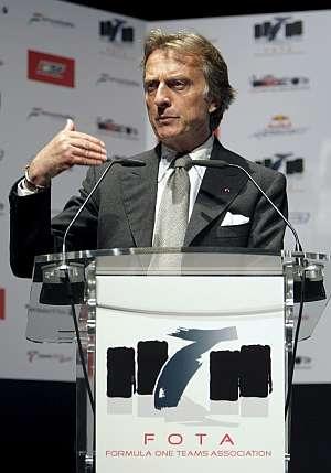 Luca Di Montezemolo, en la rueda de prensa. (Foto: EFE)