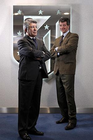 Enrique Cerezo y Miguel Ángel Gil Marín. (Foto: Antonio Heredia)