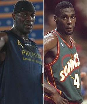 Shamp Kemp, después y antes.