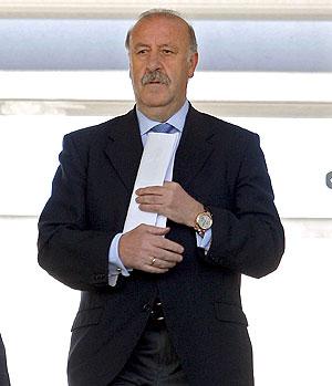 Vicente del Bosque. (Foto: EFE)