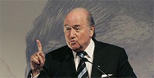 Joseph Blatter, presidente de la FIFA. (AP)