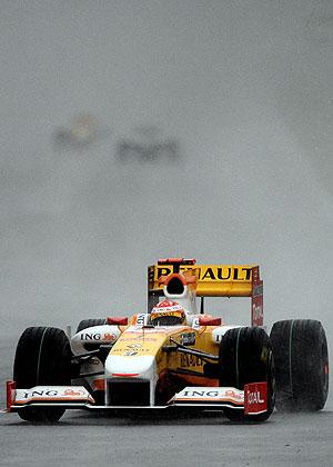 Fernando Alonso, en el GP de Malasia. (Foto: AFP)