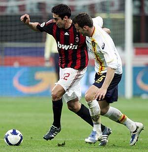 Kaká, durante un partido de la Serie A esta temporada. (Foto: EFE).