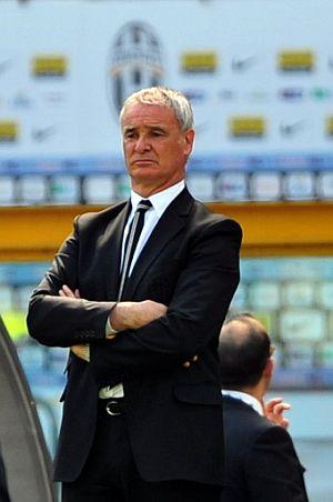 Claudio Ranieri, en el banquillo de la Juve. (Foto: AFP PHOTO)