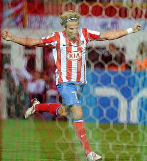 Diego Forlán. (Foto: AFP)