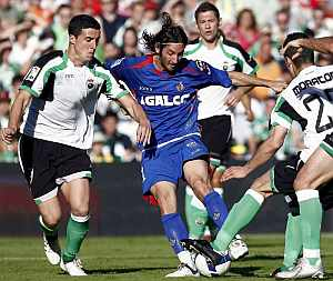 Esteban Granero, autor del gol del Getafe, en un momento del partido. (EFE)