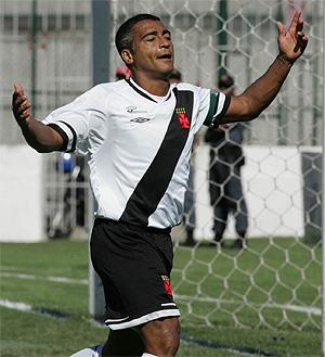 Celebrando un gol durante un partido de la liga brasileña (FOTO: EFE)