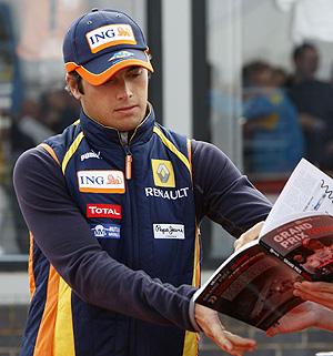 Nelsinho Piquet. (REUTERS)