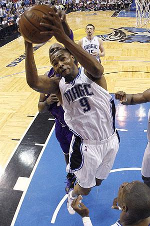 Rashard Lewis, durante la final de la NBA. (Foto:REUTERS)