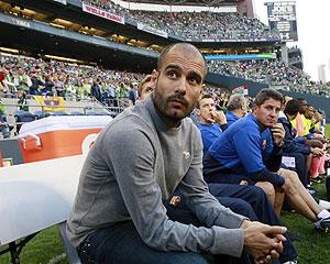 Josep Guardiola. (Foto: AP)