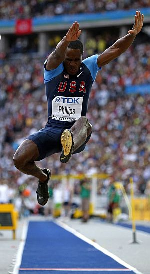 Phillips, campeón mundial de longitud. (Foto: EFE)