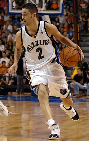 Navarro, en su etapa en Memphis.