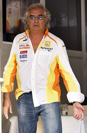 Flavio Briatore, en Monza. (Foto: EFE)