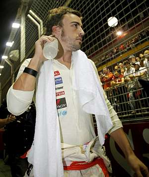Fernando Alonso. (Foto: EFE)