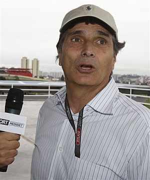 Nelson Piquet, en Sao Paulo. (Foto: AP)