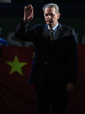 Jacques Rogge. (Foto: AFP)