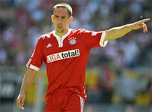 Franck Ribéry. (AFP)