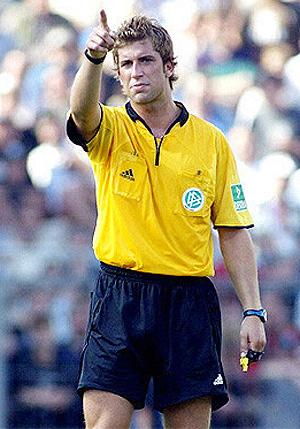 El árbitro alemán Robert Hoyzer. (AGENCIAS)