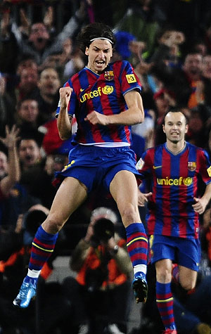 Zlatan Ibrahimovic. (REUTERS)