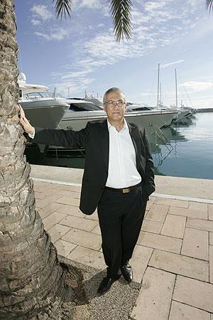 Gregorio Manzano, el lunes en Palma. (Foto: Jordi Avellà)
