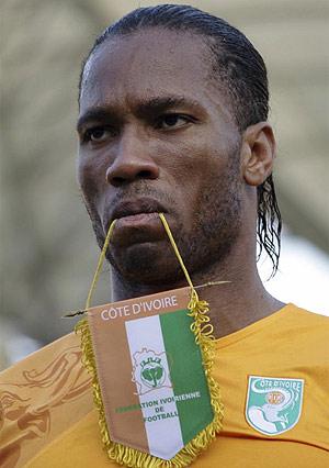 Drogba, listo para sumar el segundo título de Costa de Marfil. (Foto: REUTERS)