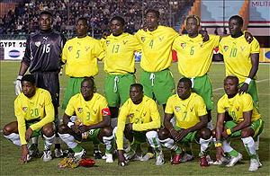 Imagen de la selección de Togo en el Mundial de Alemania en 2006.