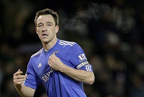 John Terry celebra un gol con el Chelsea. | Ap