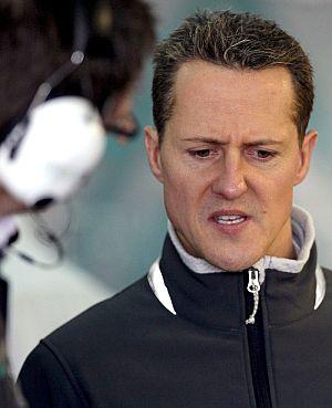 Michael Schumacher, en Jerez. | Efe