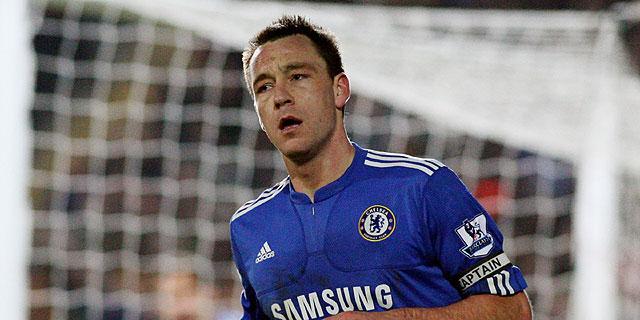 Terry celebrando un gol durante un partido con el Chelsea. (AP)