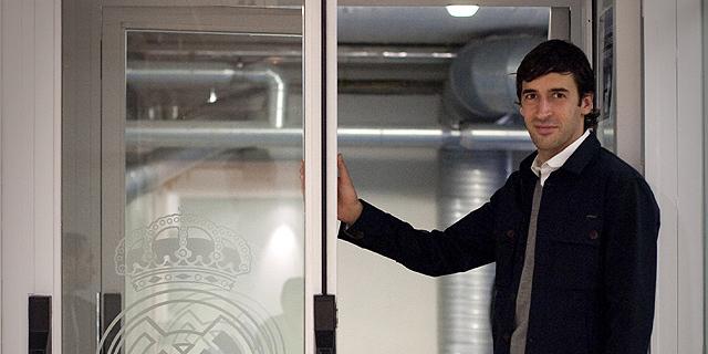 Raúl, fotografiado después del Real Madrid-Espanyol. (Foto: A. DI LOLLI)