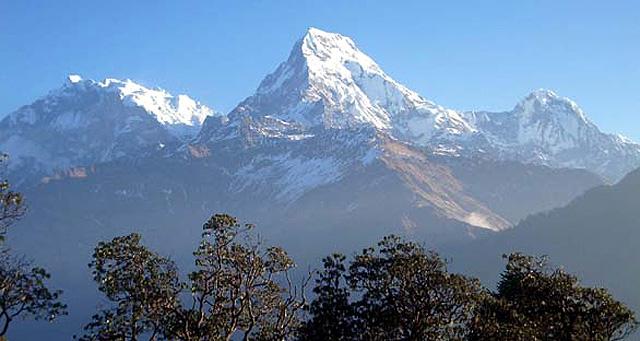 Vista general del Annapurna.
