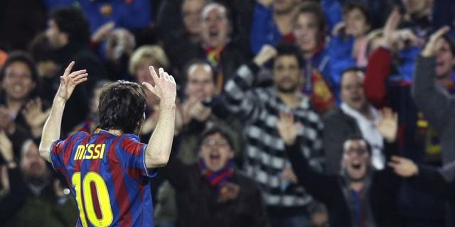 Leo Messi, héroe del Camp Nou en un partido para la leyenda. (Reuters)