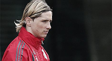 Fernando Torres, jugador 'franquicia' del Liverpool.   Reuters