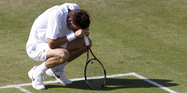 Mahut, agotado. | Reuters