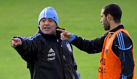 Es mentira que no respetáramos a Maradona' | Fútbol | elmundo.es