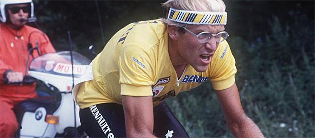 Laurent Fignon, en el Tour de 1984.   Afp