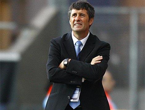 López Caro durante un partido. | Reuters