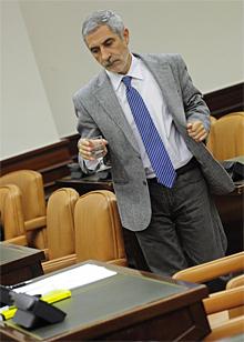 Gaspar Llamazares. | Foto: G. Arroyo