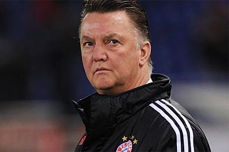Louis van Gaal, técnico del Bayern. | Afp