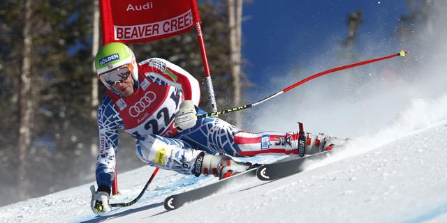 El estadounidense Bode Miller pasa una puerta en una competición. | Efe