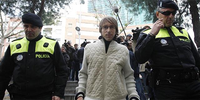 Alberto García, antes de declarar. | Alberto di Lolli
