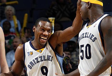 Tony Allen sonríe en un encuentro con los Grizzlies. | Reuters