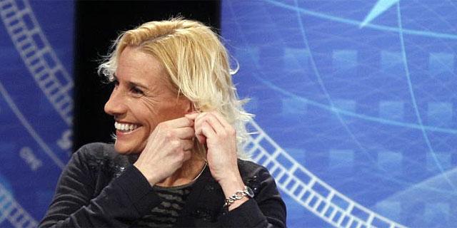 Marta Domínguez, anoche en VEO7. | Antonio Heredia