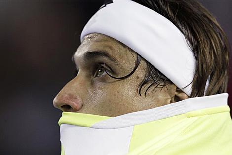 Ferrer, en una acción de la semifinal. | Ap