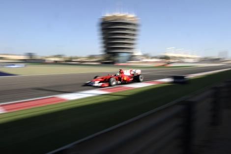 Imagen del GP de Bahrein del año pasado. | Afp