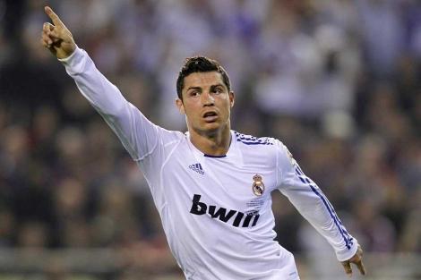 Cristiano celebra un gol que vale un título. (AFP)