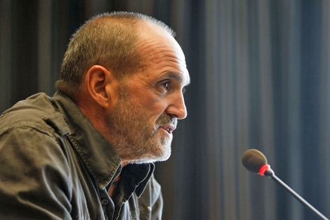 Juan Oiarzabal, durante la rueda de prensa. | Efe